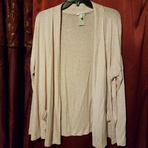 New Maurices Open Cardigan